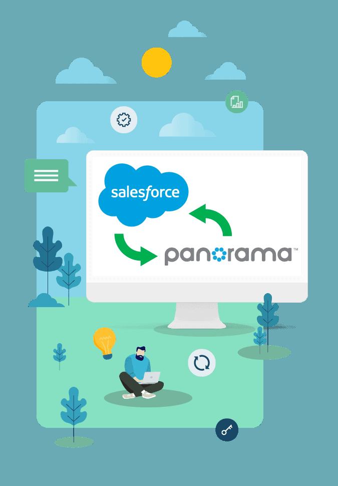 Top 5 raisons d'utiliser le connecteur Salesforce-Panorma (Artez)