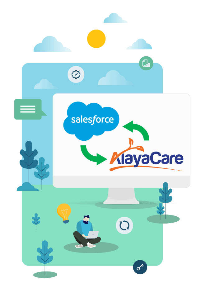 Top 5 reasons to use the Salesforce to AlayaCare connector