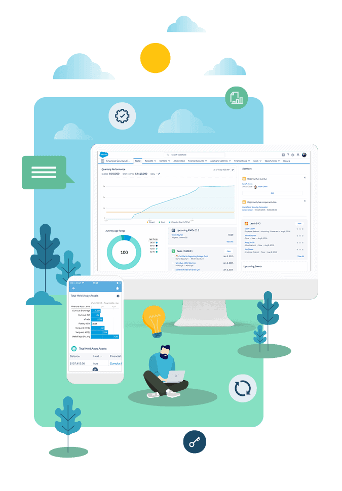 Top reasons Salesforce Financial Services